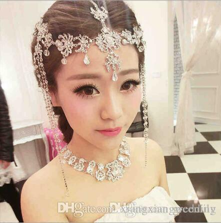 Bridal Hair Jewelry Accessories Decoration Women Girl Band Hair ...