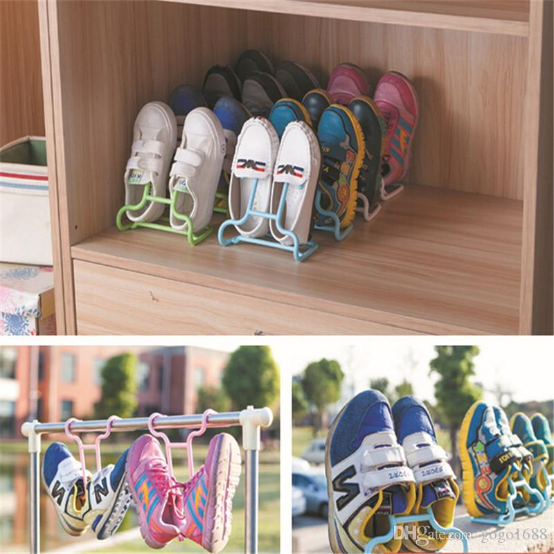 2018 Convenient Practical Multi Function Vertical Shoe Storage Rack Drying  Plastic Display Stand Shoe Shelves Hanger Rack Organizer From Gogo1688, ...