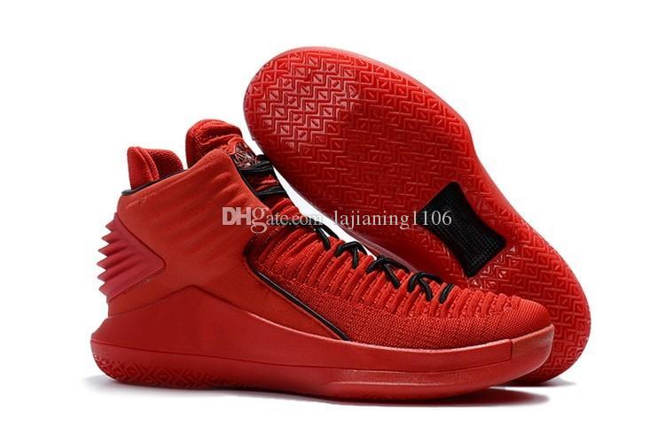 Volo 32 32s pattini di pallacanestro gli uomini Mens Red Capodanno cinese Finale Jumpman XXXII alta qualità 2020 nuovi cestini Pattini degli addestratori delle scarpe da tennis