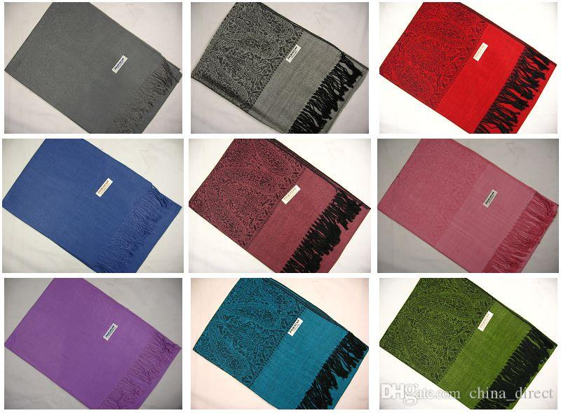 JacquardsCarf szalik szalik szalik szalik mnóstwo kolorów 10 sztuk / partia # 1921