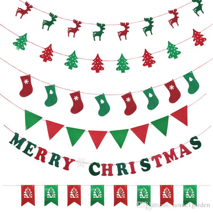 christmas ornament letter string flag christmas flag home and party decorations shop decorations for christmas shop for christmas decorations from - Christmas Letter Decorations