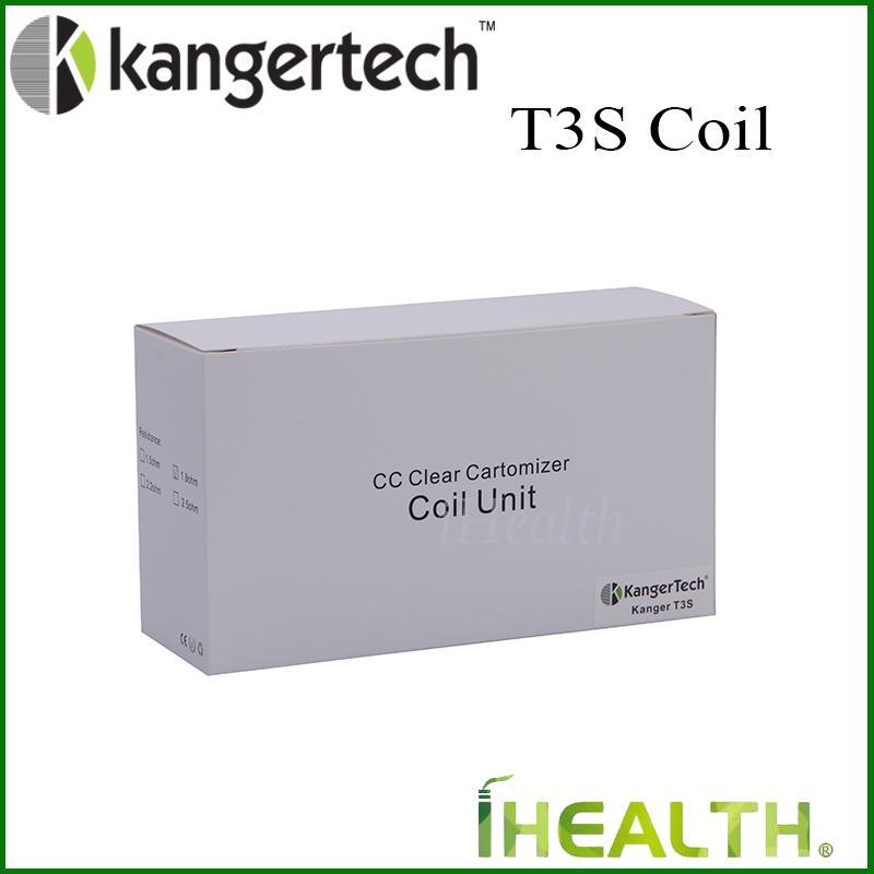 Kanger T3S - Tête de bobine de rechange - Unité de bobine originale à 100% pour MT3S T3S - Tête de bobine remplaçable 1.5 1.8 2.2 2.5ohm