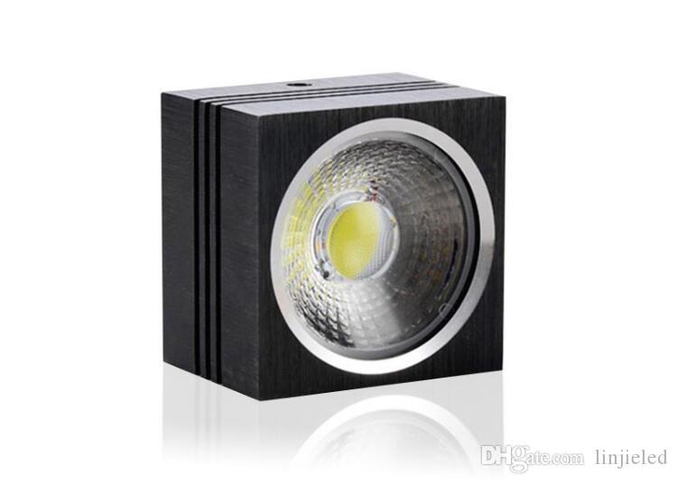Prezzo all'ingrosso Faretto Led da soffitto a soffitto COB 7W 10W Faretto da incasso a soffitto LED AC110 / 220V / 230V Bianco caldo / Bianco / Bianco freddo