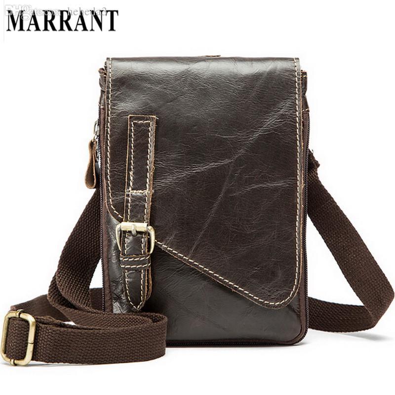 Wholesale-Hot Sale 100% Cowhide Men s Waist Bag Casual Outdoor ... 5d614ffb2fe12