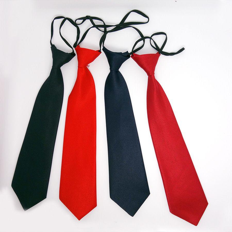 Детский галстук 4 цвета детские твердые галстуки 28*6.5 см галстуки резинкой галстук для детей Рождественский подарок бесплатная доставка