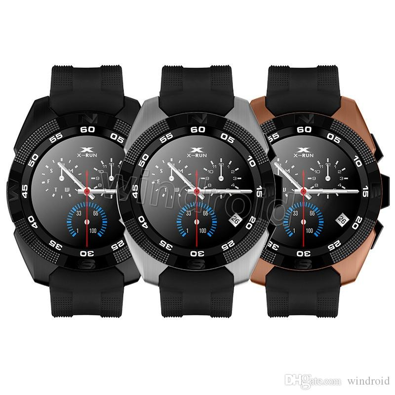Bluetooth smart watches G5 NB-1 Wrist SmartWatch MT2502C ultra slim IPS screen step heart rate sleep monitor for IOS Android Free DHL