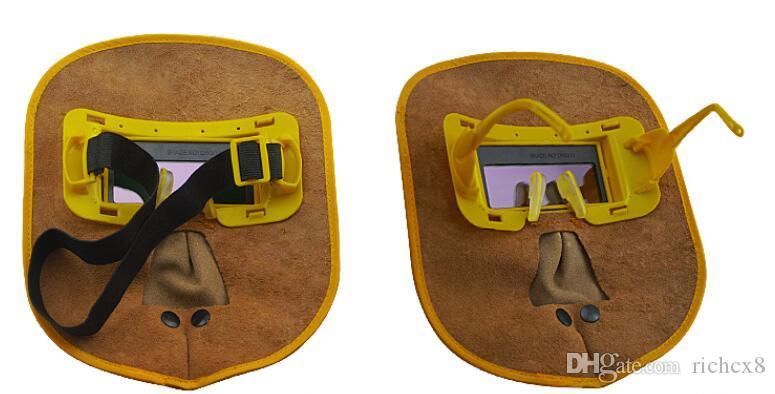 HUATE Marke automatische Dimmung Schweißmaske, Solarlinse, Schweißer Gesichtsschutz, Schweißarbeitsversicherungen, Schutzschirm