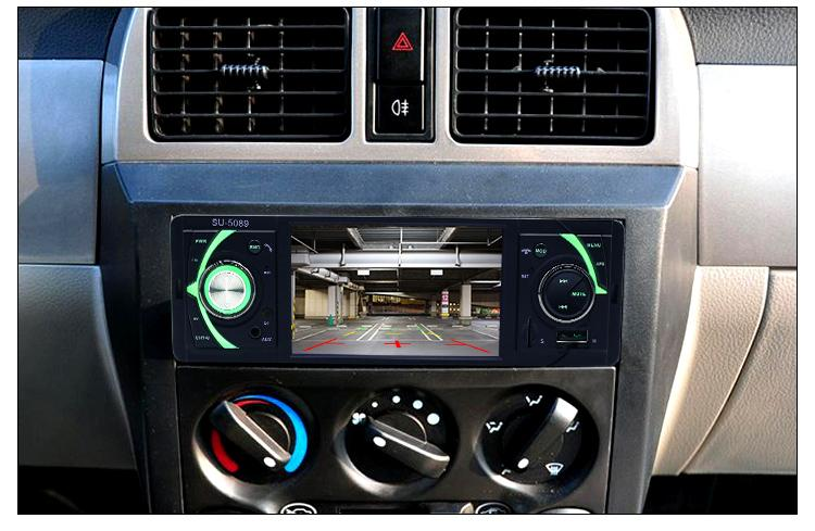 New Bluetooth Car MP5 Player 4.1 inch 1 Din Car Radio Auto Audio Stereo FM Support Rear View Camera USB TF AUX