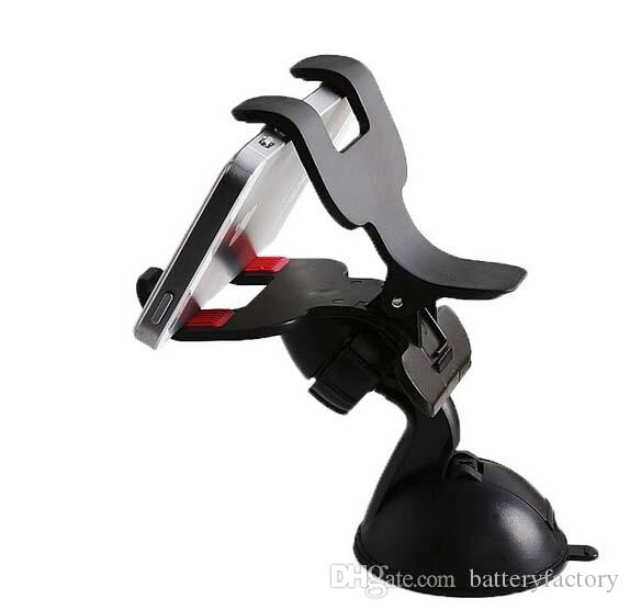 Free DHL,Universal Car Windshield Mount Holder Bracket With a 360 swivel head For iPhone Samsung Phones GPS PSP iPod MP3 MP4 Player