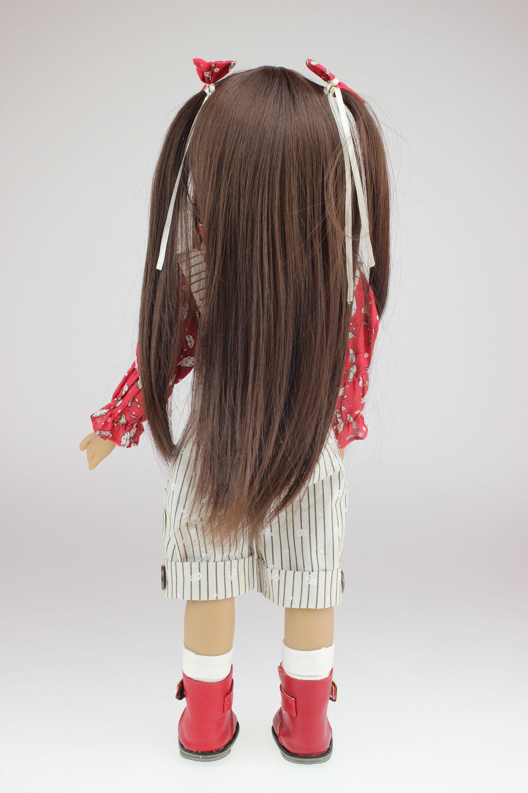 HOT sale 18 INCH Doll Realistic American Girl Full Vinyl Reborn Dolls As Christmas Birthday Gifts
