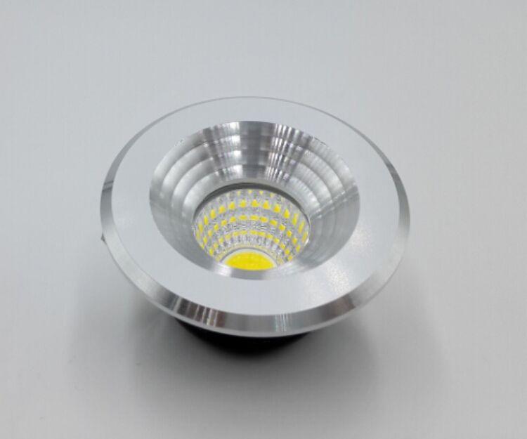 5W 110V 220V foyer living micro small ceiling white miniature spot dimmable mini COB LED downlight 5W down light