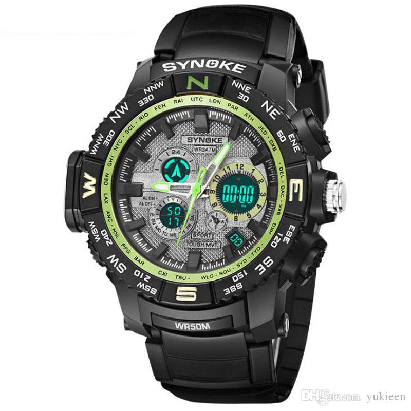 Uhr Led Männer Wasserdichte Sport Uhren Casual Shock Digitale Elektronische Armbanduhr Military 2019 Top Marke Reloj Hombre Uhren