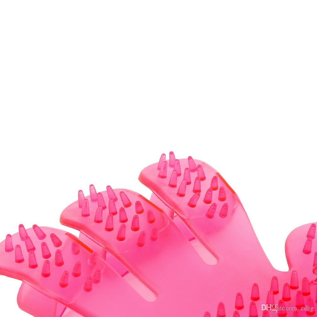 peigne peigne gant de massage pour chiens et chats brosse de bain pour animaux de compagnie produits pour animaux de compagnie laver la tête brosse de massage du cuir chevelu dans le monde entier