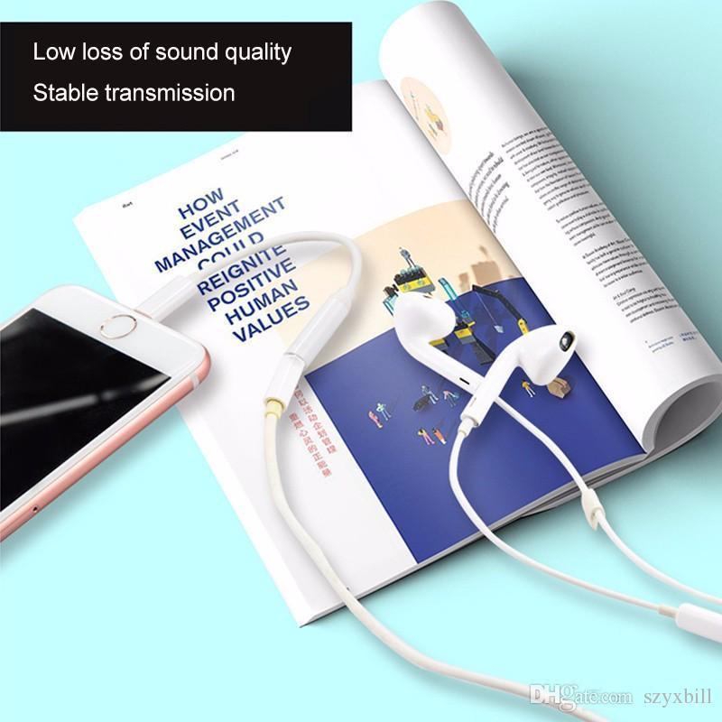 Audio Kabel Adapter Konverter Kabel Beleuchtung zu 3,5mm Für iPhone 7 Weiblichen Kopfhörer Kopfhörer Jack Converter Für iPhone 6 s 7 7 Plus AUX Cabl