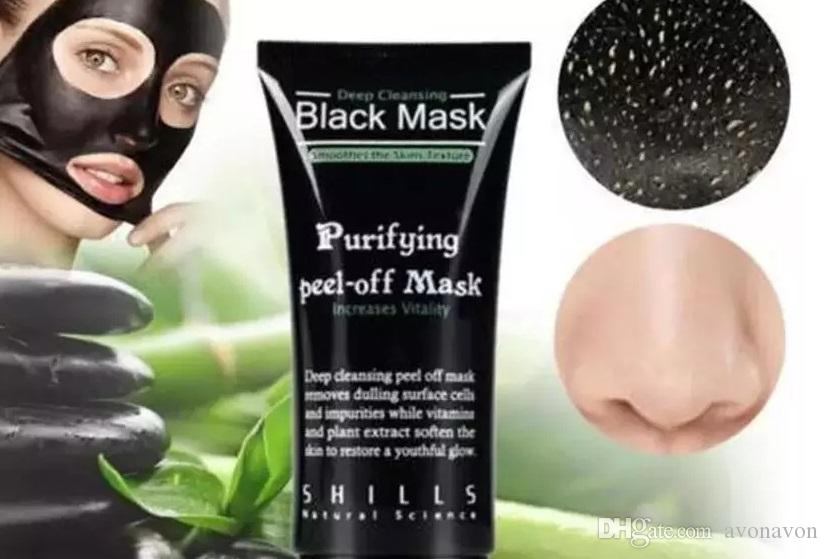 2017 SHILLS Deep Cleansing Black Mask Pore Cleaner 50ml Purifying Peel-off Mask Blackhead Facial Mask B570