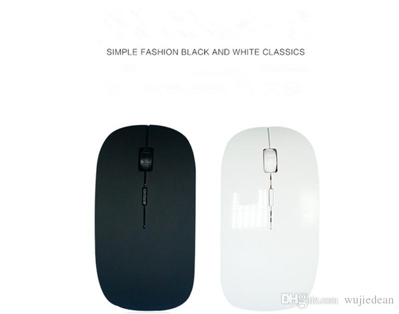 Factory outlets Slim USB wireless mouse apple neutral office 2.4G Optical Mouse