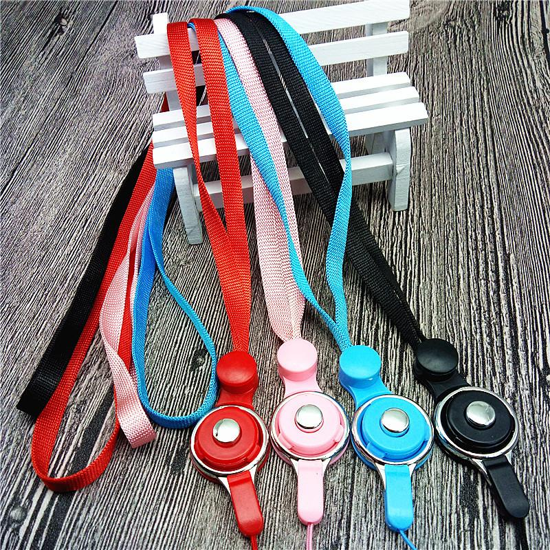 The two generation mobile phone lanyard split ring rope buckle type rotary mobile phone shell mobile phone lanyard