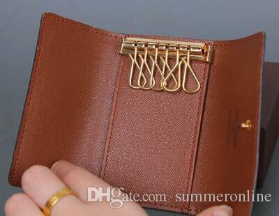 Women Leather Key Holder Wallet Famous Brand Men Key Wallets Clutch Purse  For Keys Porte Cle Llaveros Six Rings Buy Wallet Wallet Sale From  Summeronline aaf90501a4