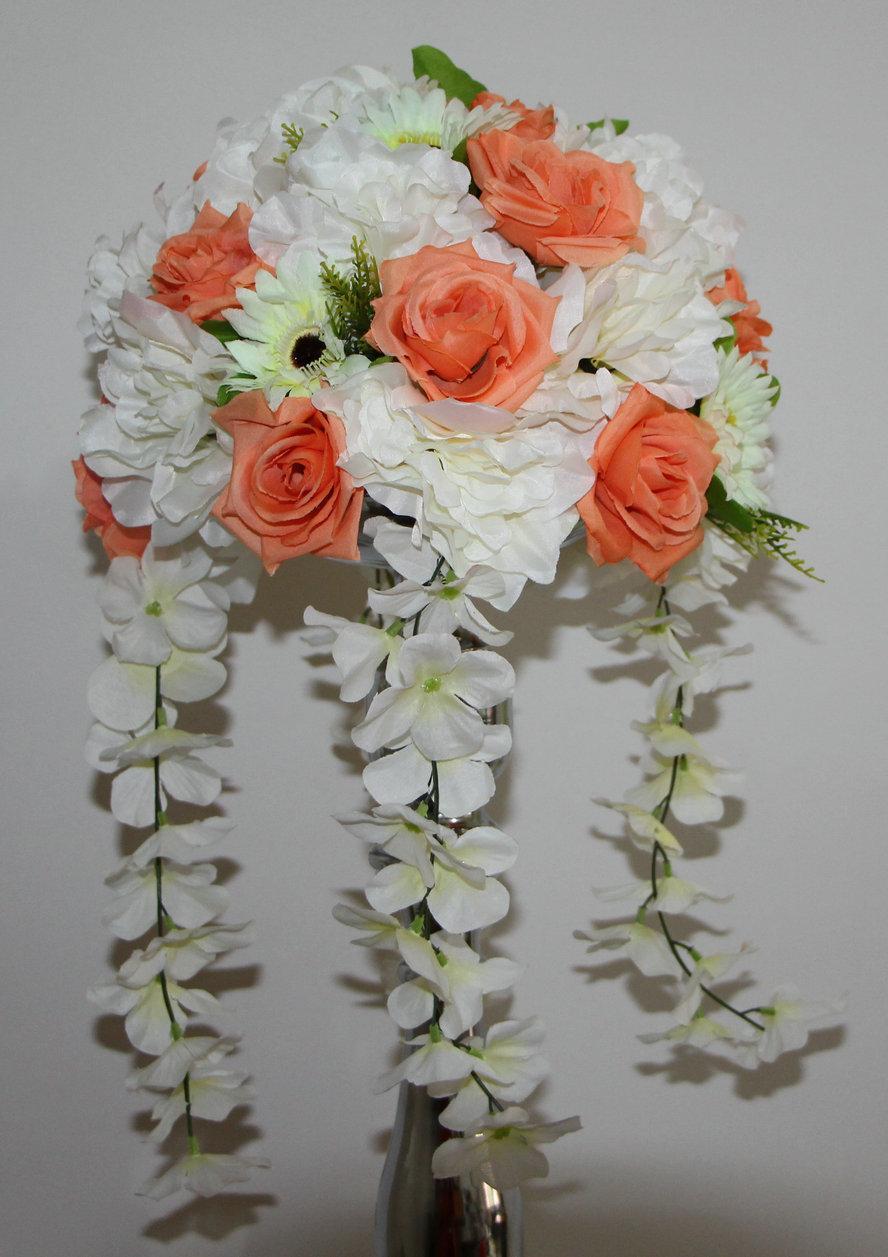 Best Rose And Dahlia Wedding Road Lead Artificial Flowers Wedding