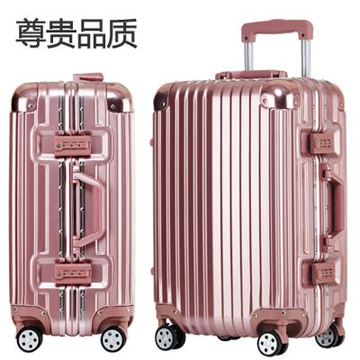 Polycarbonate Business Case 4 Wheel Spinner Trolley Luggage Travel ...