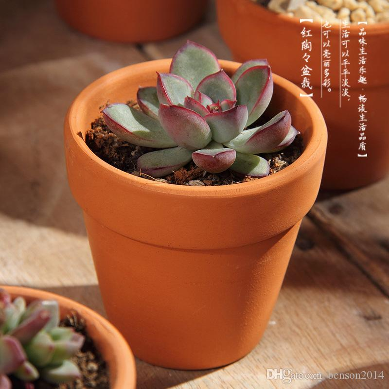 Terracotta pots terracotta pots how to make a cheap for Small clay flower pots