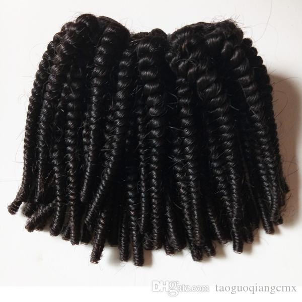 Black woman Unprocessed Brazilian Virgin hair Afro Kinky Curly best quality durable Indian remy Hair For Sale Factory Price
