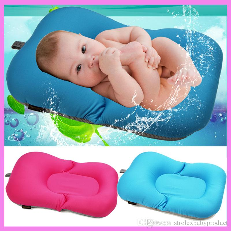 2018 Newborn Baby Bathtub Pillow Pad Lounger Air Cushion Floating ...
