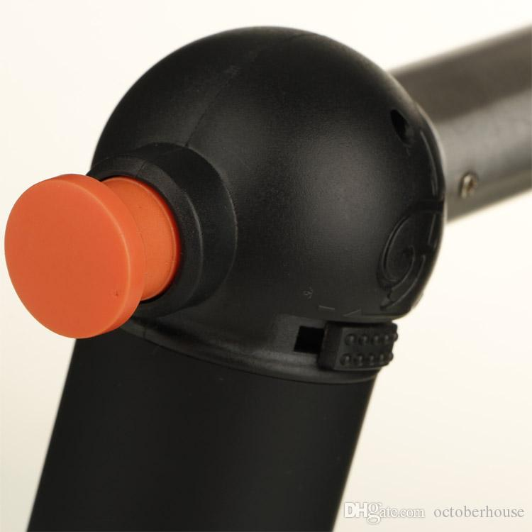 XL maçarico de butano churrasco ao ar livre spray de isqueiros à prova de vento Jet para cozinha Ferramenta de gás NO com pacote de varejo