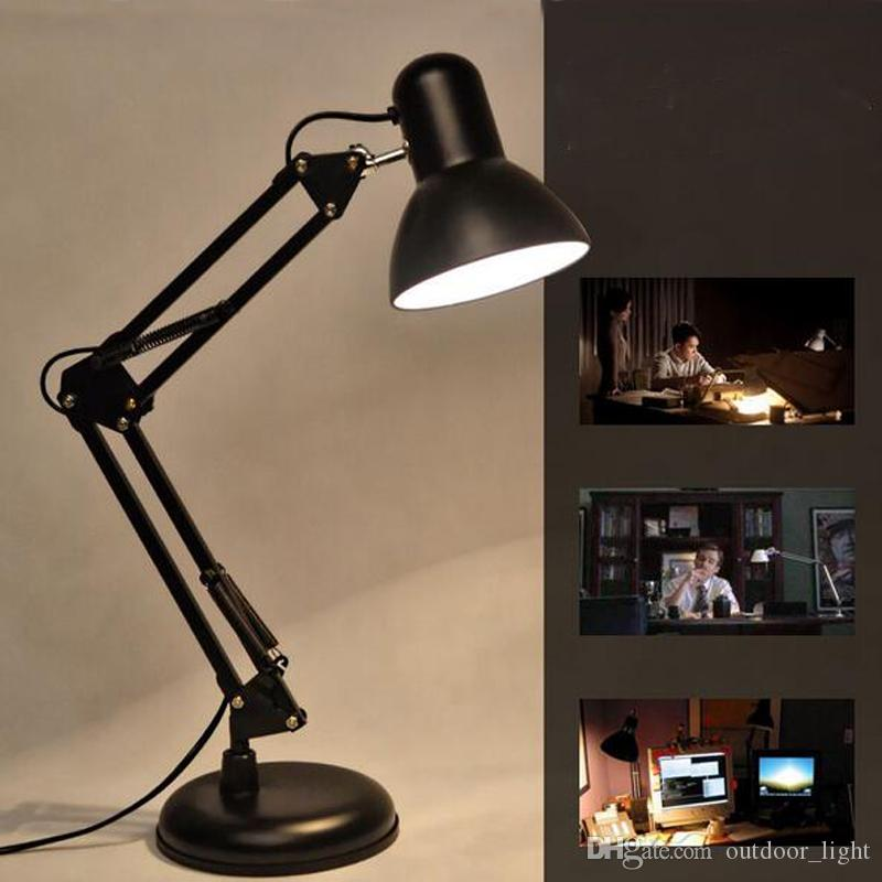 Led Lamps Trustful Modern Quality Desk Lamp Led Lamps Fashion Creative Reading Study Table Lamps E27 Led Bulb Table Lamp Suitable Voltage 90--260v