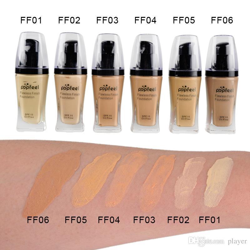Popfeel Liquid Concealer Foundation Base de acabado impecable Cosmética Popfeel Makeup Makeup Base de es