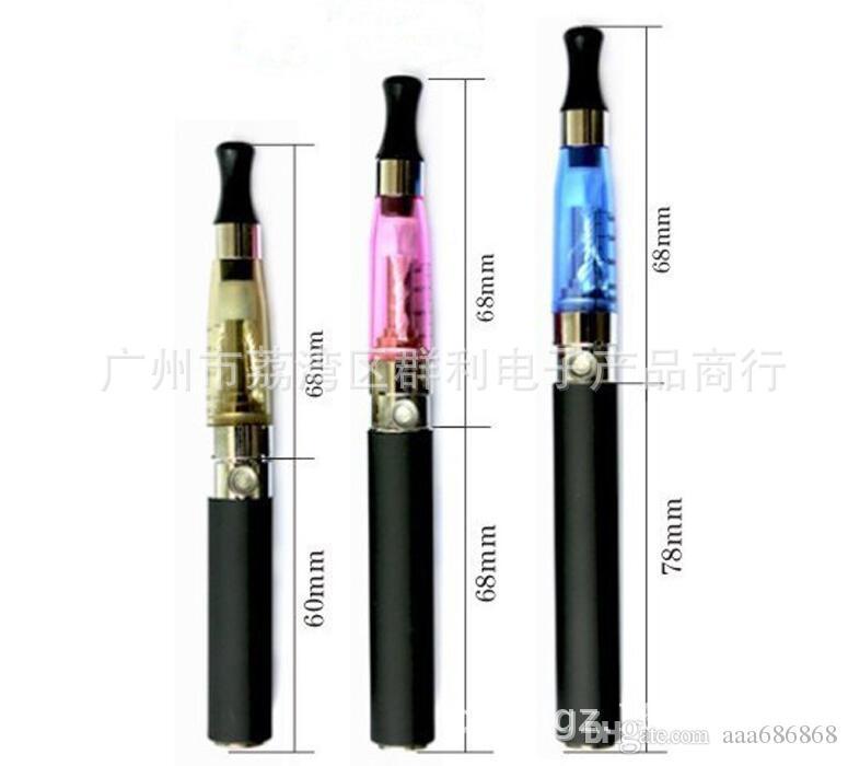 Cigarette électronique cadeau ensemble ego CE4 vape stylo kit cigarrillo electronico batterie capacité 650 mah atomiseur vapoorizer safe Vente Chaude