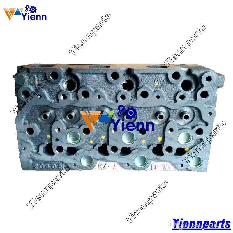 High Quality 2pcs Stainless Steel For Volvo S60 S60l V60: 2019 For Kubota D1703 Cylinder Head 16487 03040 16487