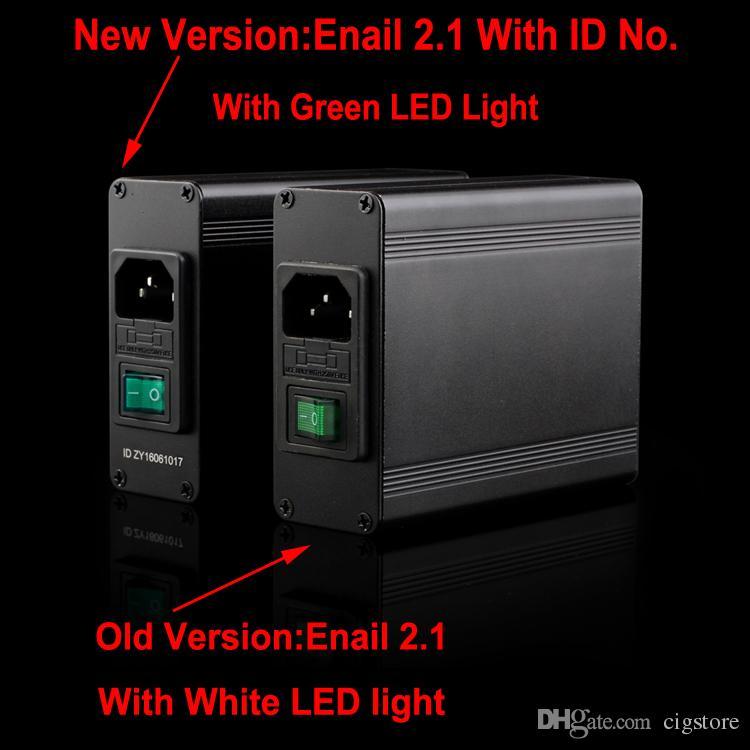 100% origiaire G9 Greenlight Insonter Dnail Kit Kavlar Bobine Pid TC Dnail DAB RIG TIANIUM NAVER DOMAINES DNAIL KIT D-NOUVEAU E-NAIL Vaporisateur de cire