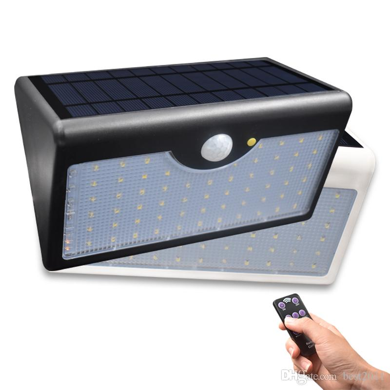 2018 60 led solar security lights 5 modes with controller motion 2018 60 led solar security lights 5 modes with controller motion sensor light super bright waterproof ip65 garden wall fence light from best2011 aloadofball Choice Image