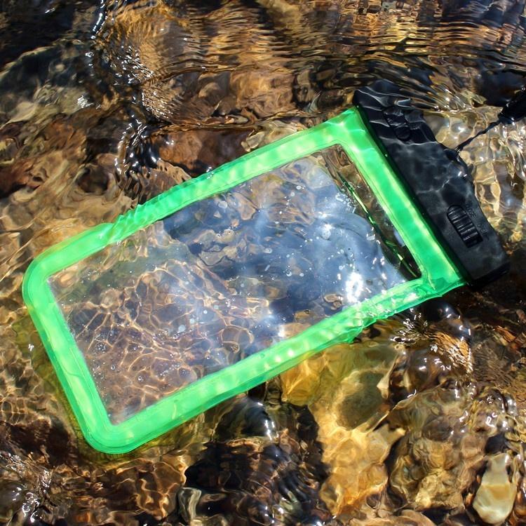 Дрейфующий мобильный телефон водонепроницаемый мешок клип дайвинг плавание мягкий ПВХ телефон случае, подводный фотография дайвинг мешок сухой мешок