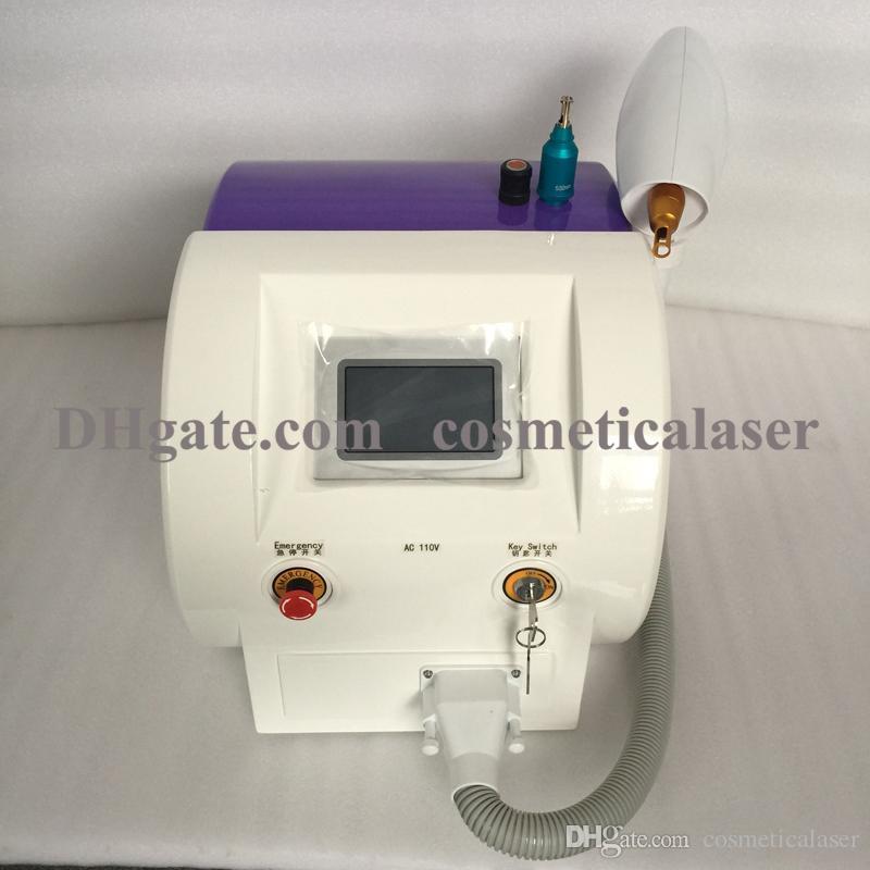 على الانترنت بالجملة 1064nm / 532nm / 1320nm Q قام بتحويل ND YAG Laser لإزالة الوشم