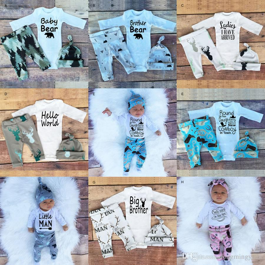 Christmas 1st Birthday Outfits For Baby Boy Girl Set Clothes Infant ...