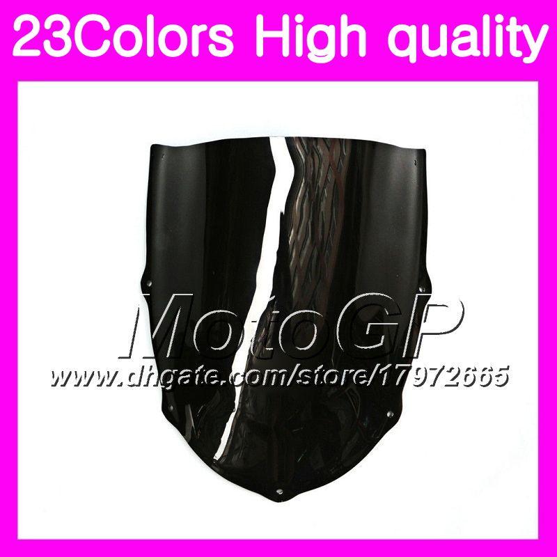 Windscreen For Aprilia RS4 125 RS125 99 00 01 02 03 05 RS 125 1999 2000 2001 2005 Chrome Black GPear Smoke Windshield