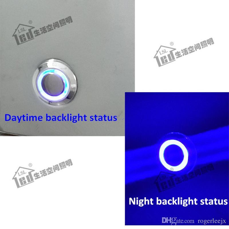 Topoch Dimmable Night Light DC12V Touch dimming Luminosità 15% -100% 3W Tubo flessibile 360mm Alloggiamento in alluminio Finitura cromata 3 anni di garanzia