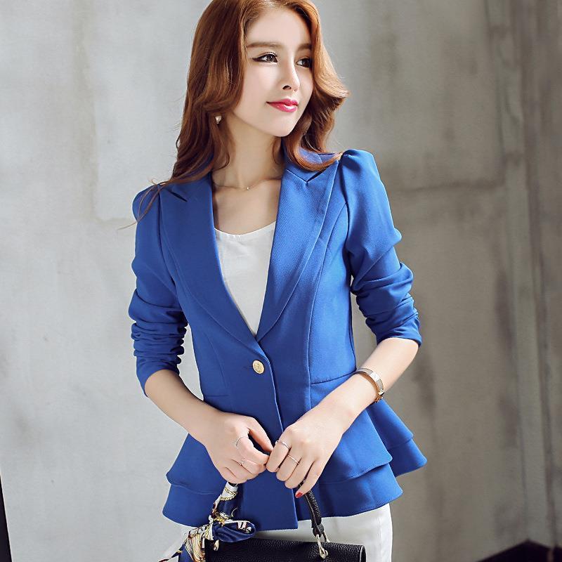 b7f89b39f79 Cheap Autumn Orange Women Blazers Best Long Plus Size Blazers for Women