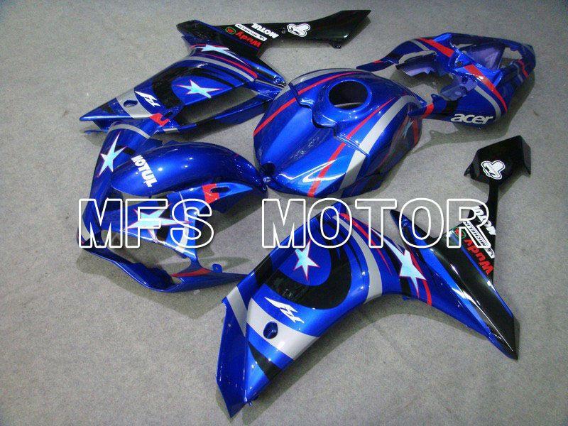Para 2007 2008 Yamaha YZF R1 07 08 Kit completo de caretas de plástico ABS para inyección, kit de carenado