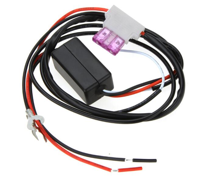 Universal 12 V Car LED DRL Controlador Auto led diurna luz da lâmpada kit On / Off Switch Controlador para Auto Acessórios Do Carro