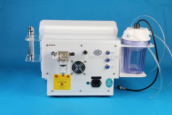 2 in 1 Hydro Dermabrasion Hydro Peel Water Microdermabrasion Diamant Peel-Gesichtsreinigung Haut Hubmaschine mit 8 Sätzen Hydra-Tipps