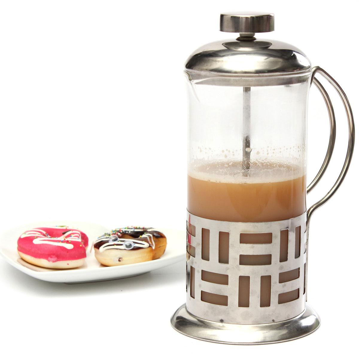 New Arrival Stainless Steel Glass Coffee Pot Carafe Kettle Tea Maker ...
