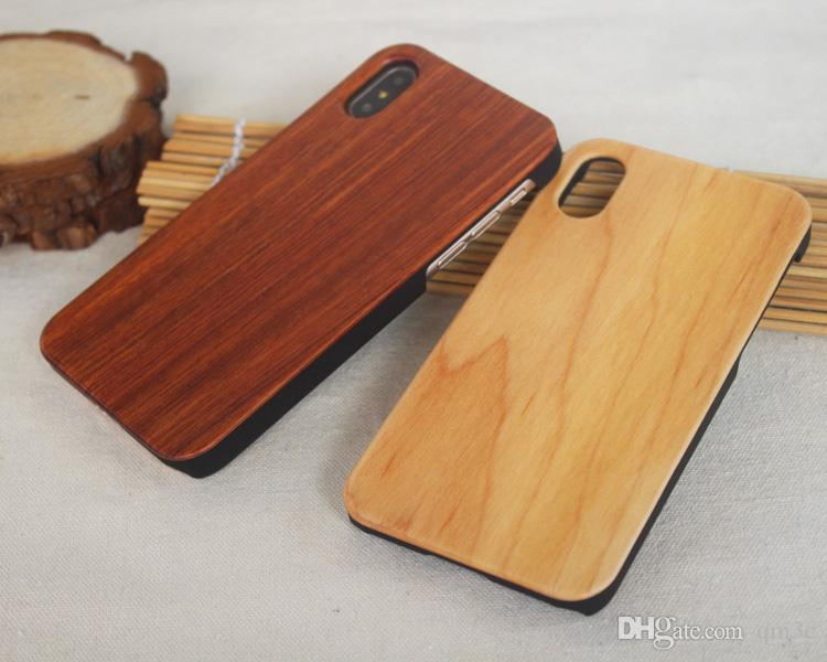 Genuine Wood Case For Iphone XS Max XR 6 7 8 Plus Hard Cover Carving Wooden Phone Shell For Iphone Bamboo Housing Luxury S9 Retro Protector