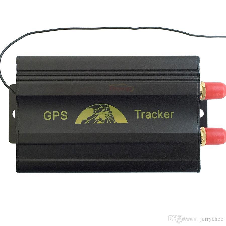 Hohe Qualität Coban GPS103B TK103B Echtzeit Geo-Zaun Alarm GSM GPS Mini Car Truck Bus Tracker mit Einzelhandelskiste 12V 24 Universal