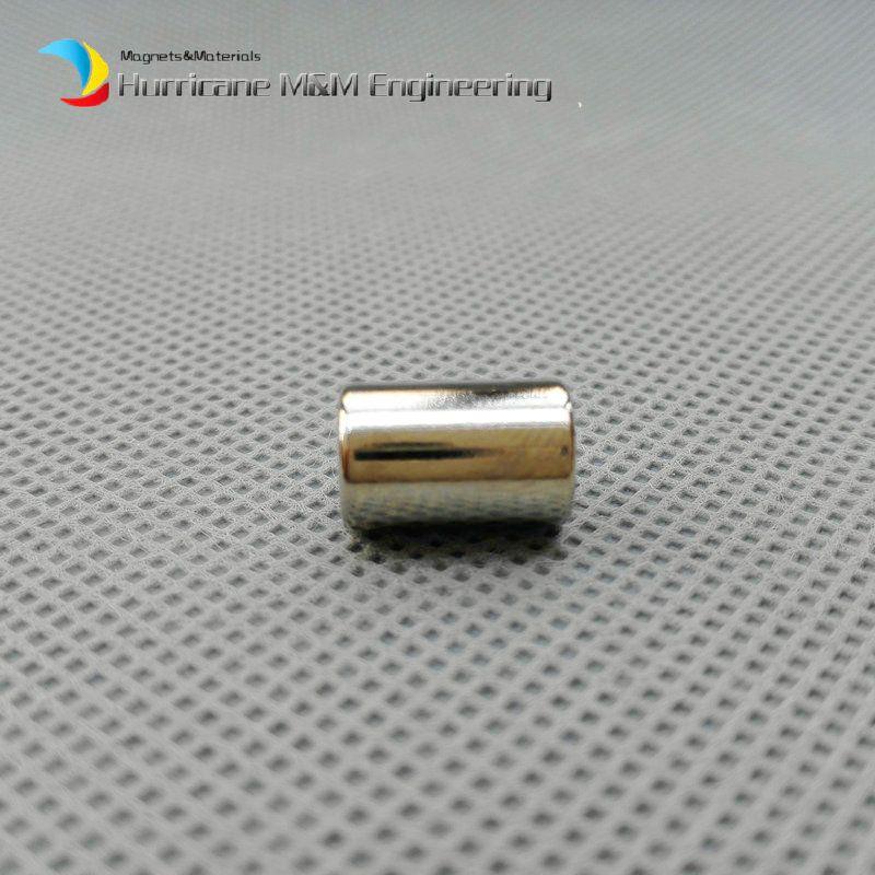NdFeB Magnet Ring OD 7.6x4.3x11.5 mm Strong Permanent Neodymium Magnets Sensor Magnet