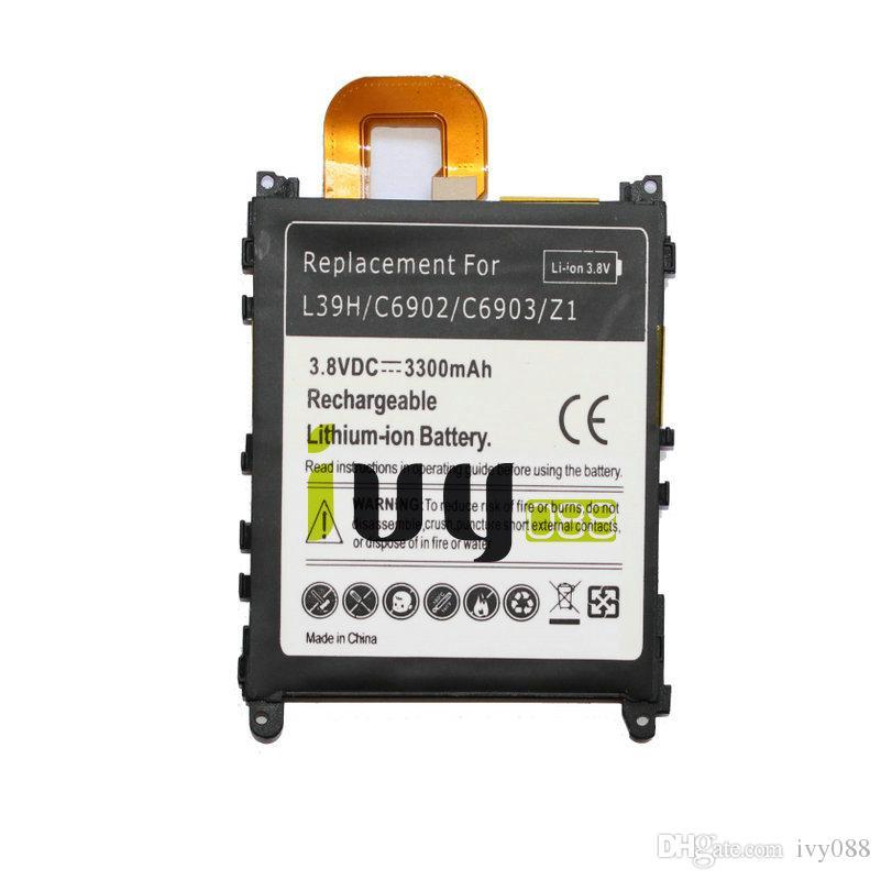 2шт/лот LIS1525ERPC 3300 мАч замена аккумулятор для Z1 в c6906 C6902 l39h телефон L39T L39U в c6903 C6916 C6943 батареи Batterie батарея Batteria