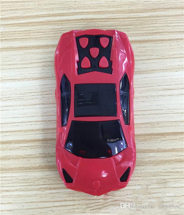 MP3 Media Player Verde Car Shape MP3 Media Player con altoparlante Suppport 128 MB 32 GB TF SD Card lettore Mp3 wireless 32 gb Mp3 Player Mini Mp3