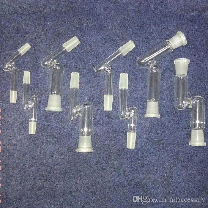 45 градусов стекло бонг адаптер 90 градусов стекло бонг адаптер мужской женский 14.4 мм 18.8 мм